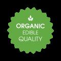 Organic Edible Quality logo