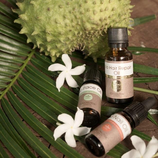 Vegán bio kozmetikumok arcra, hajra, körömre szűz kókuszolaj felhasználásával