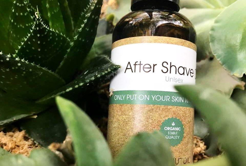 borotválkozás utáni olaj