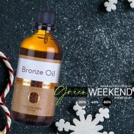 Bio Bronzolaj Coconutoil Cosmetics