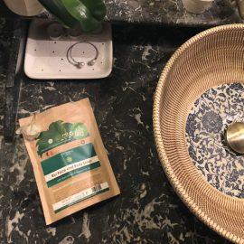 Bio Arc- és Testradír Matcha teával