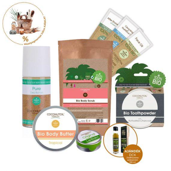 Fenntartható Kozmetikum csomag - Coconutoil Cosmetics