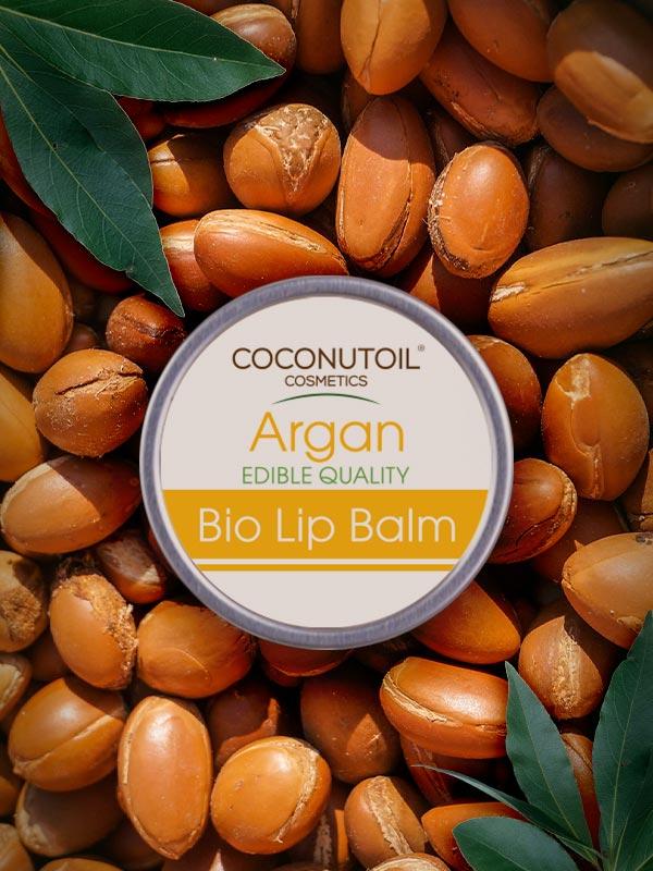 Coconutoilcosmetics Bio Argánolaj Ajakápoló Balzsam