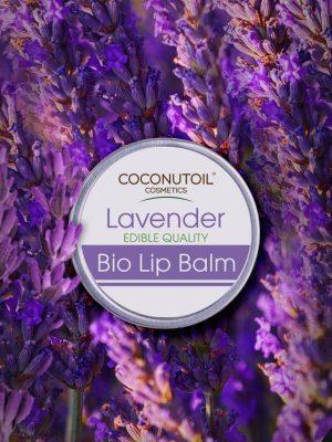 Coconutoilcosmetics Bio Levendulás Ajakápoló Balzsam