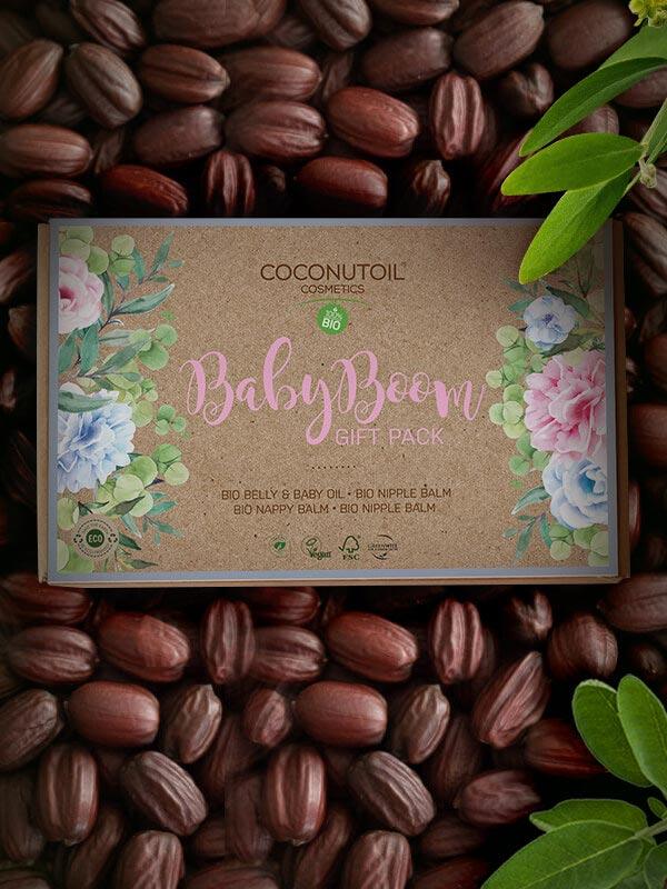 Coconutoilcosmetics Baby Boom Gift Pack - Bio Baba Kozmetikum Ajándékcsomag
