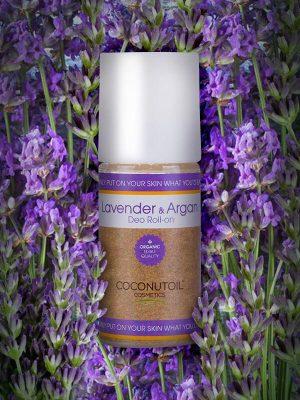 Coconutoilcosmetics Bio Levendula-argán golyós dezodor