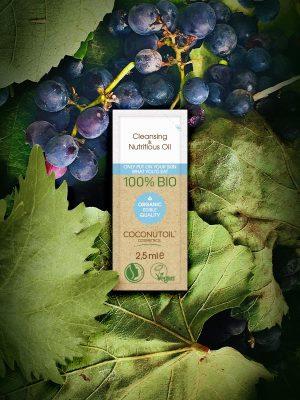 Coconutoilcosmetics Bio Arcregeneráló és Sminklemosó Olaj (2,5 ml)