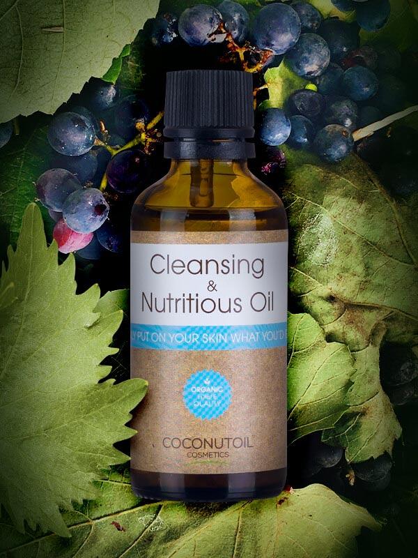 Coconutoilcosmetics Bio Arcregeneráló és Sminklemosó Olaj