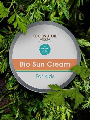 Coconutoilcosmetics Bio Napkrém Gyerekeknek SPF30 természetes fizikai fényvédő