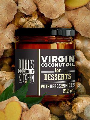 Coconutoilcosmetics Bio Kókuszolaj Desszertekhez - Dori's Coconut Kitchen