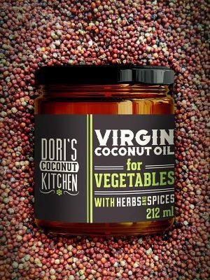 Coconutoilcosmetics Bio Kókuszolaj Zöldségekhez - Dori's Coconut Kitchen