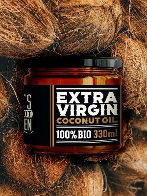 Coconutoilcosmetics DCK Extraszűz nyers kókuszolaj
