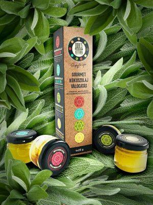 Coconutoilcosmetics DCK Gourmet kókuszolaj minta csomag