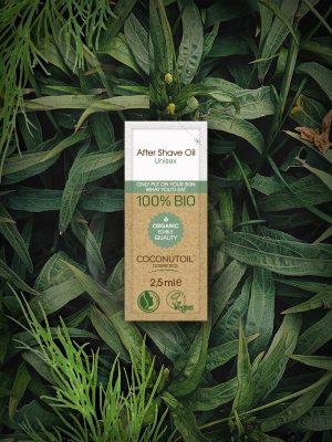Coconutoilcosmetics Bio Szőrtelenítés és Borotválkozás utáni Olaj (2,5ml)