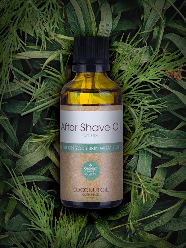 Coconutoilcosmetics Bio Szőrtelenítés és Borotválkozás utáni olaj