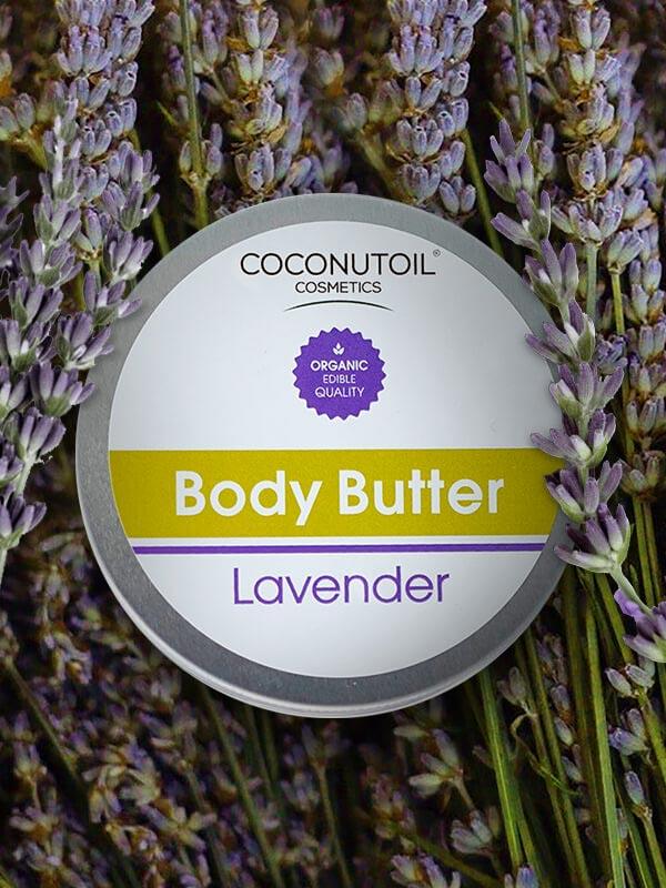 Coconutoilcosmetics Bio Testvaj Levendulával